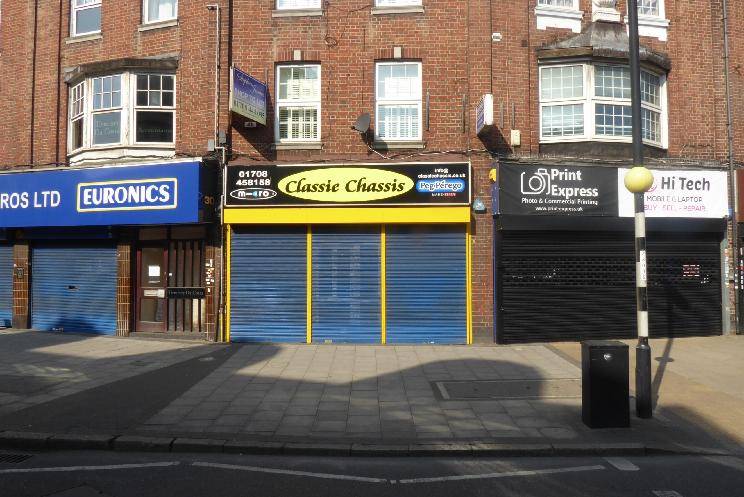 Hornchurch Retail Agent To Let